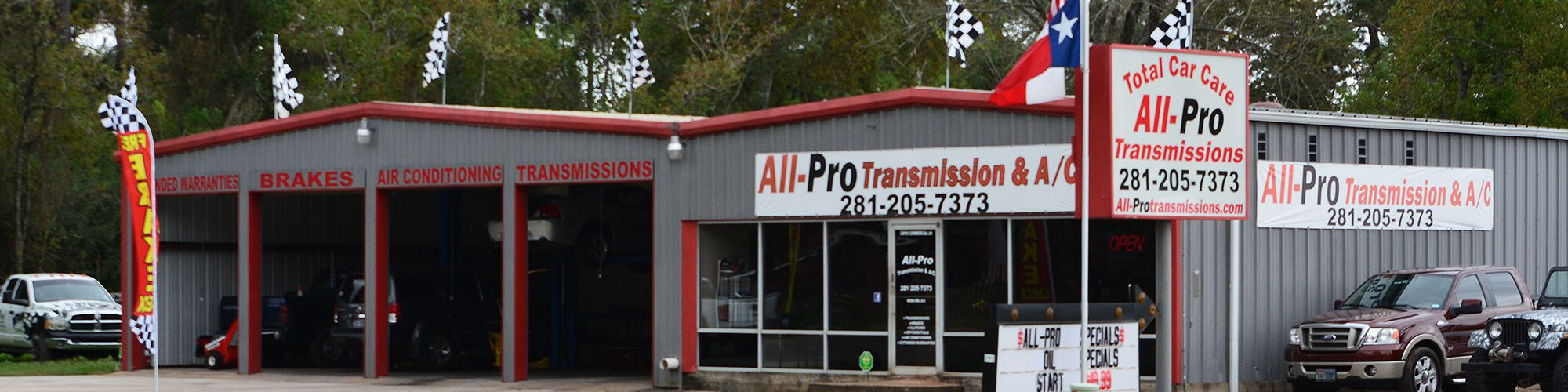 All-Pro Transmission Repair - Spring Transmission Repair - Tomball Transmission Repair